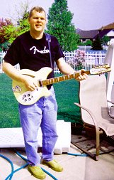 Rick and his new RICKENBACKER 360 12-string