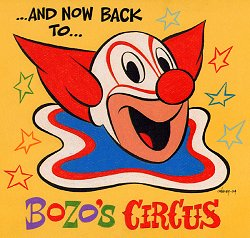 Bozo's Circus Art by Patrick 