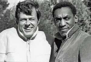 Robert Culp & Bill Cosby from the television series I SPY.