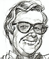 Arthur Rankin caricature by Jack Davis