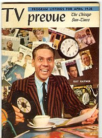 Ray Rayner makes the cover of The Chicago Sun-Times' TV Preview
