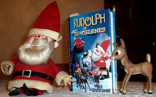 Photo of Rudolph and Santa Animagic figures by DANNY SOLAZZI