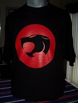 Thundercats Logo T-shirt by Delta Pro Weight